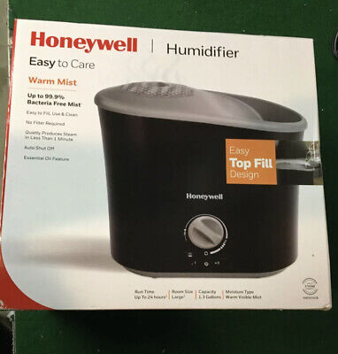 Honeywell Top Fill Cool Mist Humidifier, Black, HUL570B