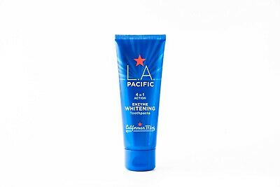 L.A. PACIFIC 4 in 1 Enzyme Whitening Toothpaste - Clinically Proven Whiter Teeth
