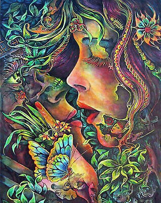 Kissing Lovers 5D Full Drill Diamond Painting Embroidery DIY Cross Stitch #Z