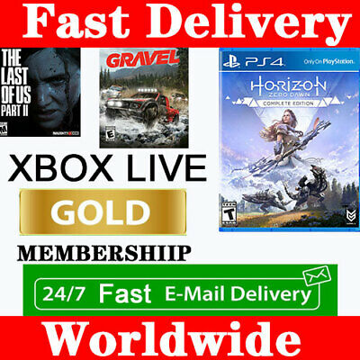 Microsoft Xbox Live  14 Days Trial Instant 24/7 Delivery One/360 Gold Membership