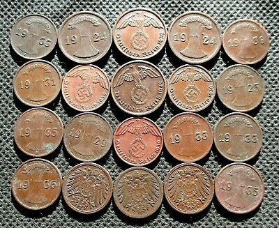 big Lot of German Empire coins