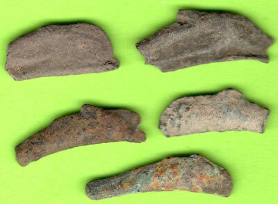 Sarmatia OLBIA Cast Proto Money DOLPHIN 5th BC Ukraine Crimea Russland 5 pc.63
