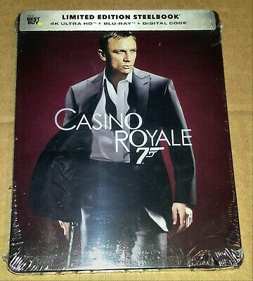 New 007 Casino Royale 4K Ultra HD + Blu-ray/Digital Steelbook™ Bestbuy Exclusive