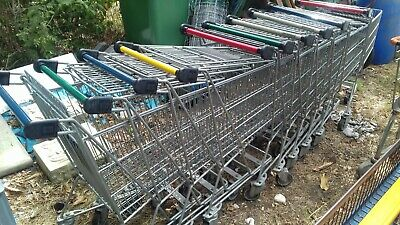 10 Supermarket shopping Trolley used