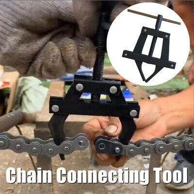 Roller Chain Connecting Puller Holder Tool #25 35 40 41 50 60 415H 428H 520 530