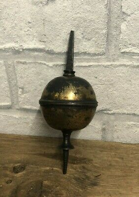 Original Antique Early Victorian Brass,  Longcase / Grandfather Clock Finial