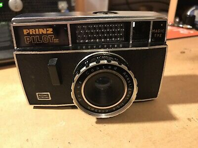 Vintage Prinz Pilot III((German Made)1967.Seems To Be Fully Working.With Case