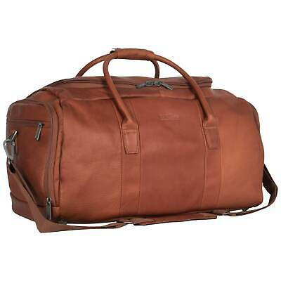 Kenneth Cole Reaction 20-inch Top Load Full-Grain Colombian Cognac