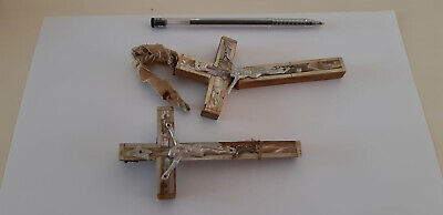 Ancient Egyptian Christianity Wooden-Pearl Jesus  Cross