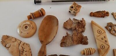 Ancient Egyptian Coptic Christianity Wooden Objects