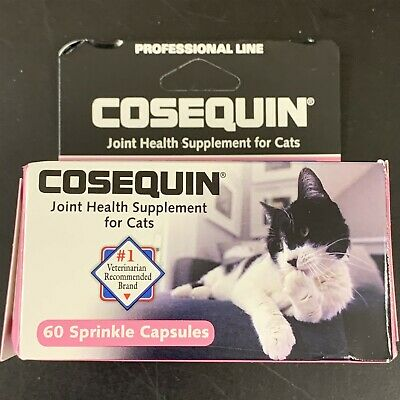 Cosequin Joint Health Supplement for Cats 60cap exp9/22 #7662