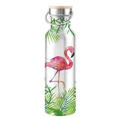 Stainless Steel Bottle 'Tropical Flamingo'