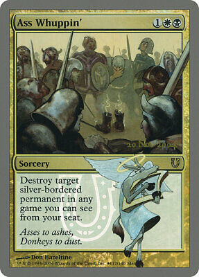 Ass Whuppin //// Foil //// NM //// Release Promos //// engl //// Magic the Gathering