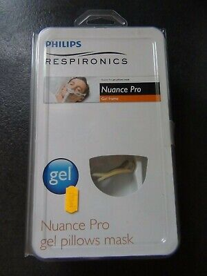 Philips Respironics Nuance-Pro gel pillows mask neuf en boite