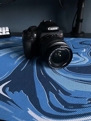 Canon EOS Rebel T6 18.0 MP Digital SLR - Black 18-55 Mm Lens With Charger