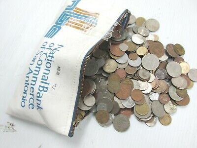 10.2 lbs Mixed Foreign Coins Bulk World by the Pound - exact lot D2