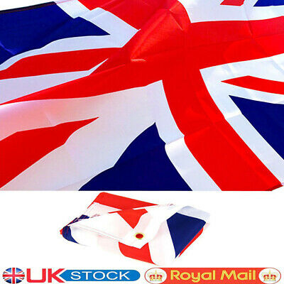 Union Jack Claret and Sky Blue 5ft X 3ft Flag 75denier with eyelets for Flagpole