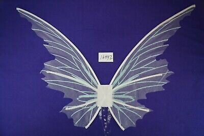 White Mystical Fairy Angel Wings Fancy Halloween Cosplay Costume Accessory Wing