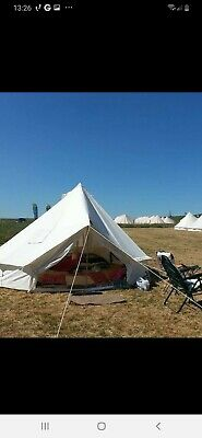Full /& Half Moon Frosted Taupe Polypropylene Matting for 4M /& 5M Bell Tents