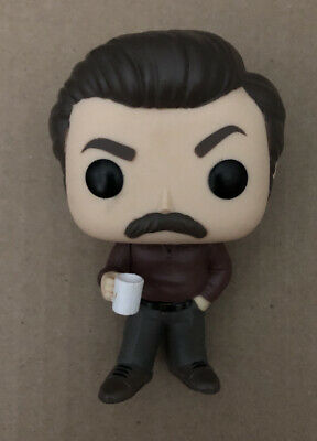 Funko POP! Television #499 Ron Swanson Parks and Recreation Rec Figure