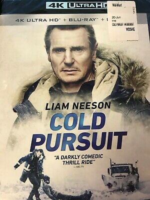 Cold Pursuit-Liam Neeson (4K+Blu-Ray+Digital) NEW / SEALED NO SLIPCOVER