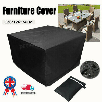 Garden Patio Furniture Cover Rattan Table Cube Covers Outdoor Dust Waterproof UK
