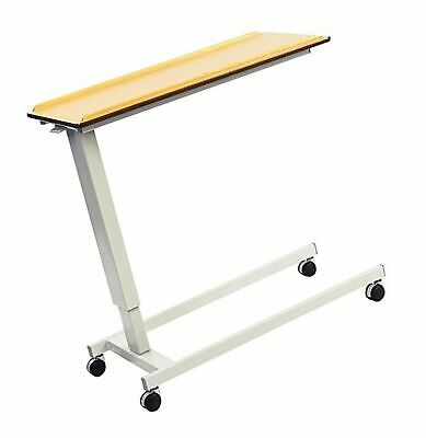 NRS EasyLift Overbed / Over Chair Table Beech N43541 Height Adjustable - Stan...
