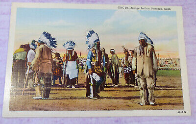 Photo ca 1925 Osage Indian Chief Bacon Rind