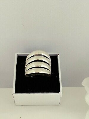Gift box Solid Silver 925 Ladies Ring UK Handmade Size Available