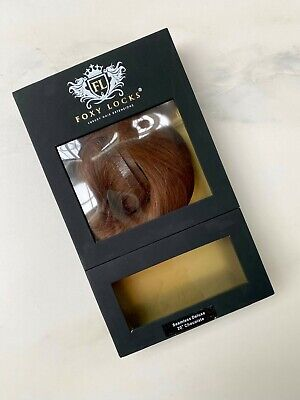 """Foxy Locks - 20"""" Deluxe 140 grams Remy Human Hair Extensions -  Chocolate"""