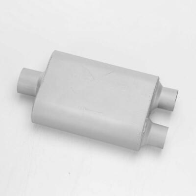"""Geniune Cherry Bomb Back Box Round Exit Tail Bomb Exhaust Pipe 2/"""" 50mm Inlet"""