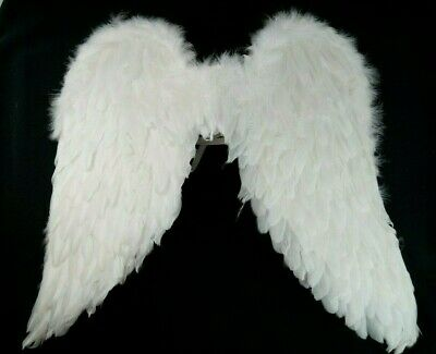 White Feather Angel Costume Wings Cosplay Fairy Wings Halloween Costume Angel