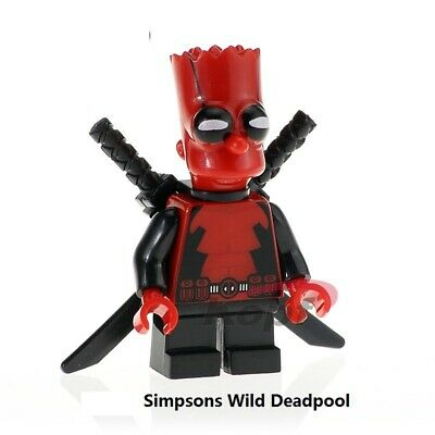 MODEL RARE FUNNY HERO MARVEL DEADPOOL DUCK LEGO Moc MR GOLD C3P0 BRICKS 2020