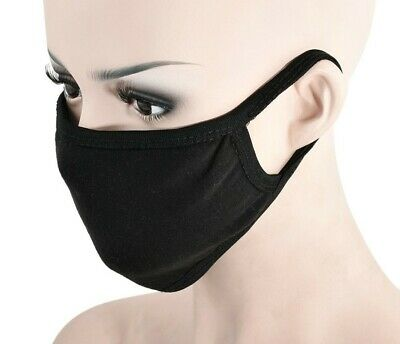 Face Mask 2 PACK. 100% Premium Cotton, Reusable, Washable. FREE SHIPPING!
