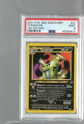 Pokemon LARVITAR 57//75 1st Edition Neo Discovery MINT