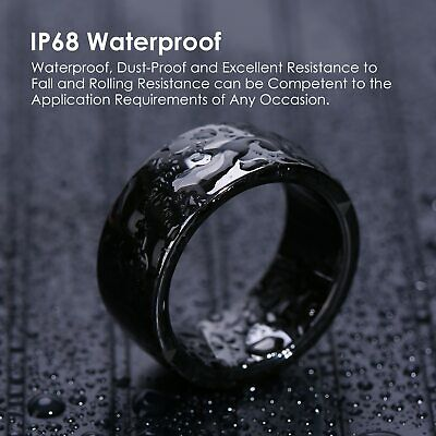 JAKCOM R4 Smart Ring IP68 Waterproof Wearable NFC for IOS Android Mobile Phone