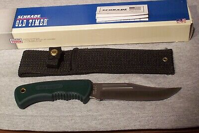 Schrade Vintage Made In The Usa Old Timer 140Ot  Bowie Knife New In Box