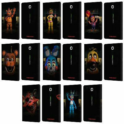 Five Nights At Freddy's Jeu 2 Étui Coque En Cuir Pour Samsung Galaxy Tablettes