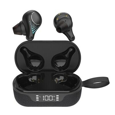 TWS 5.0 Stereo Motion Led True Wireless Two Ear Call with Charging Chamber Y6X9