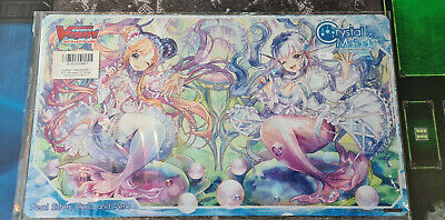 Cardfight Vanguard CCG Crystal melody Play Mat sneak preview
