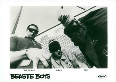King Ad-Rock, Mike D and MCA - Vintage photograph 3557353