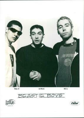 Mike D, Ad Rock and MCA - Vintage photograph 3557352