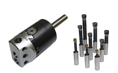 RDG FACEMILL SHELL MILL FLYCUTTER HEADS SIZES BORES TIPS MILLING MACHINE TOOLS