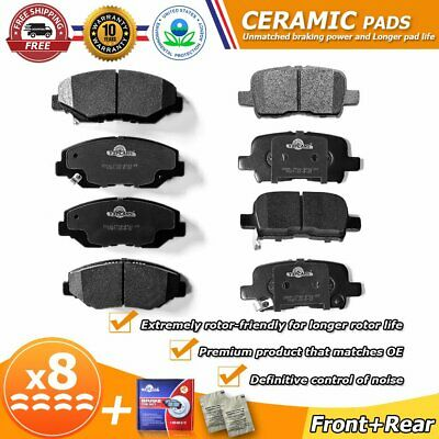 HD793 /& HD865 HSB Front and Rear Ceramic Brake Pads