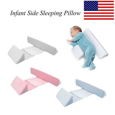 Newborn Infant Baby Sleep Pillow Adjustable Support Anti Roll Side Sleep Pillow