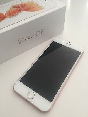 Apple iPhone 6s - 16gb - Rose Gold (Unlocked) Cracked Screen