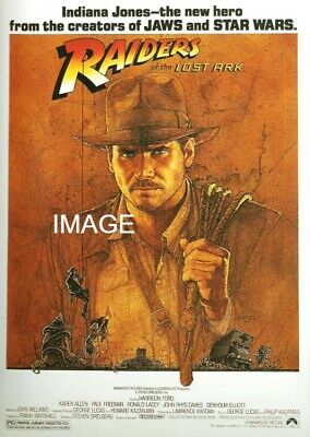 "11/"" x 17/"" B2G1F Movie Collector/'s Poster Print Raiders of the Lost  Ark"