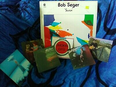 Bob Seger Early Capitol 6 CD Bundle (Mongrel / Smokin' OPs / Tales of Lucy Blue)