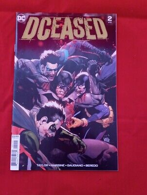 Of 6 DCeased #2 Cover A Leinil Francis Yu 6//5//19 NM