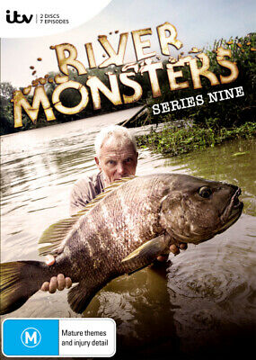 River Monsters: Series 9 (The Final Season) (2017) [New Dvd]